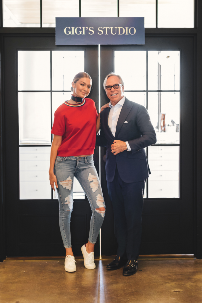 Gigi Hadid in Berlin for TOMMYXGIGI collection launch