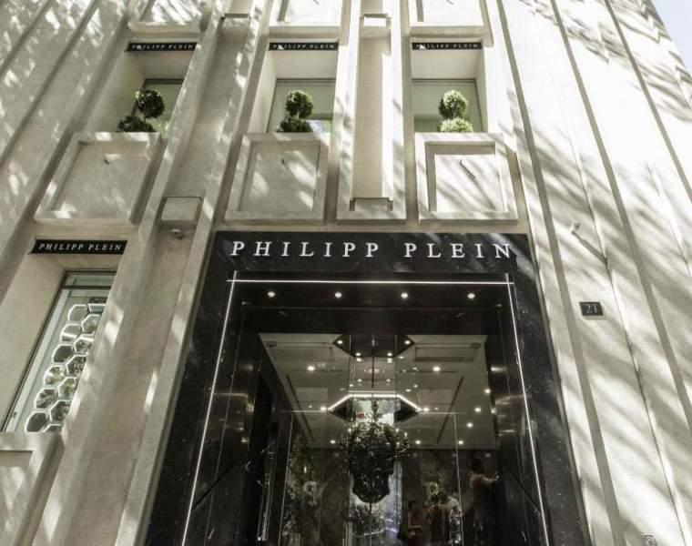 Philipp Plein new showroom designed by architect Claudio Pironi