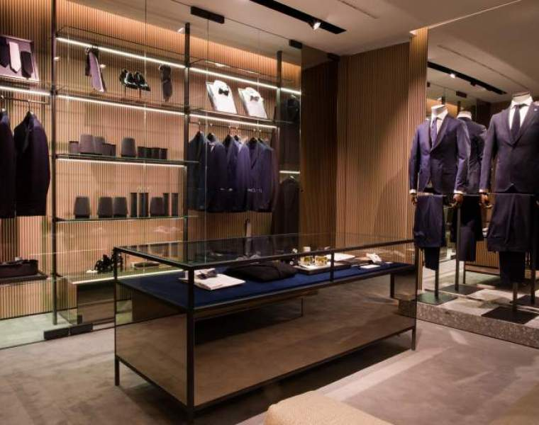 Lardini & Gabriele Pasini open first flagship store in Milan