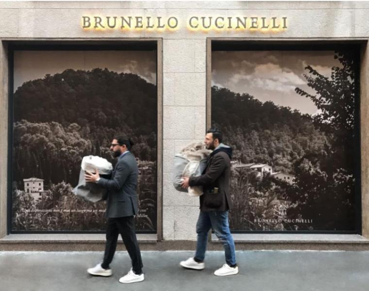 Brunello Cucinelli opens boutique in Milan