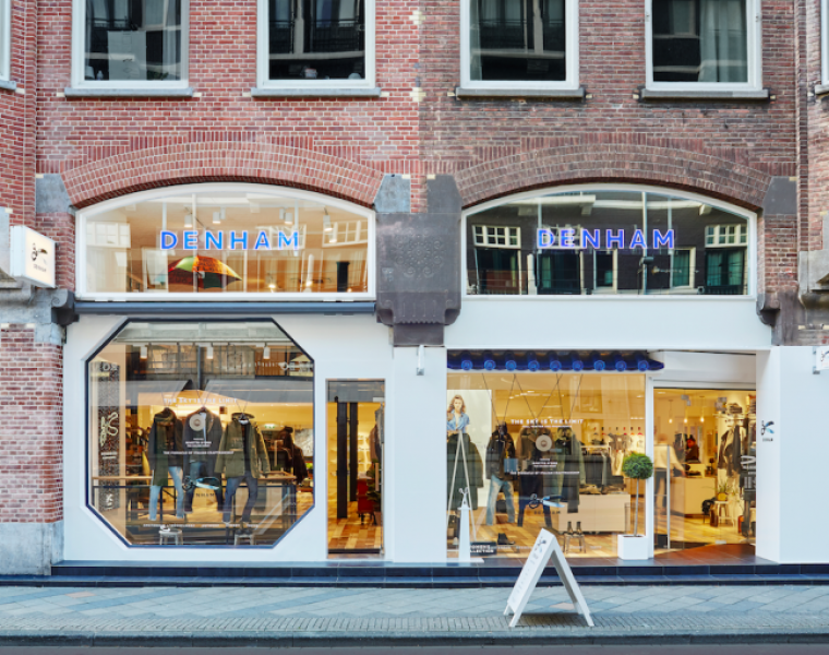 Denham opens Flagship store in Amsterdam