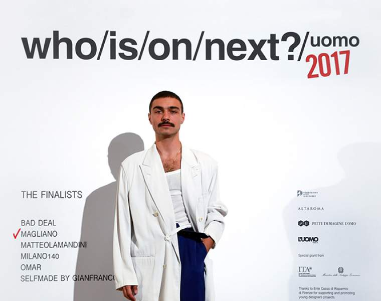 MAGLIANO winner of the 9th edition of WHO IS ON NEXT? UOMO