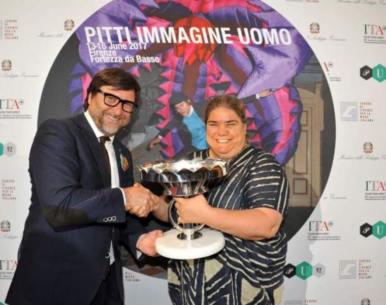 WP Lavori in Corso receives Pitti Immagine Uomo Award.