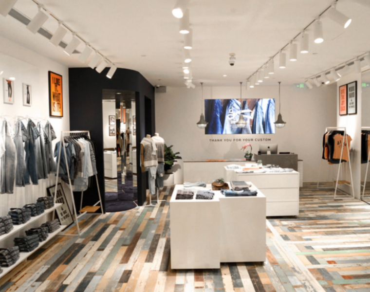 Denham opens its first store in China