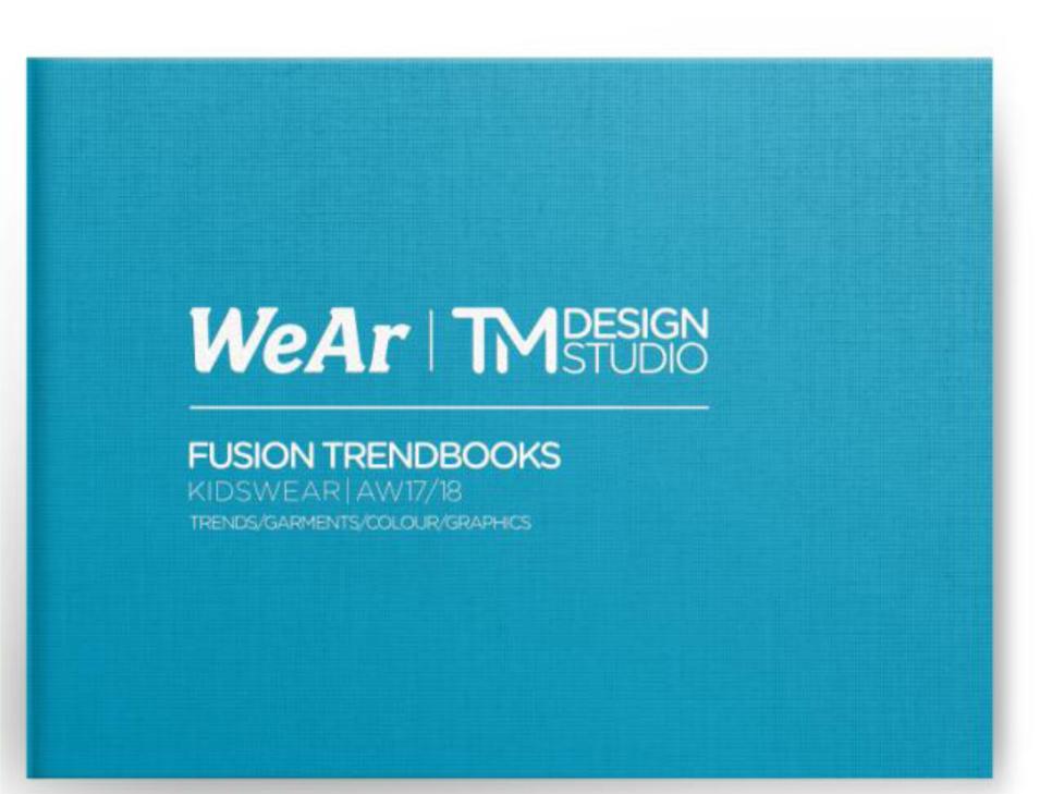 TM Design Studio Fusion Trendbooks Kidswear AW 17/18