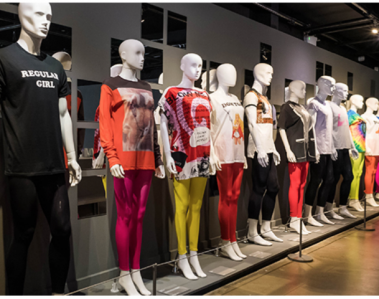 'T-SHIRT: CULT – CULTURE – SUBVERSION' exhibition at Fashion and Textile Museum