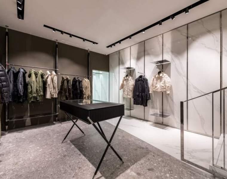 Tatras opens flagship store in the fashion district at No. 3 Via della Spiga.