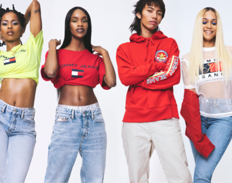 Tommy Hilfiger Spring 2018 TOMMY JEANS capsule campaign