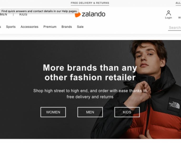 Zalando shares tumble