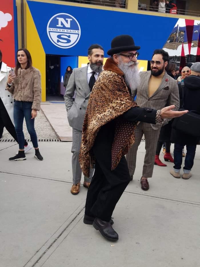 Further fashion style at Pitti