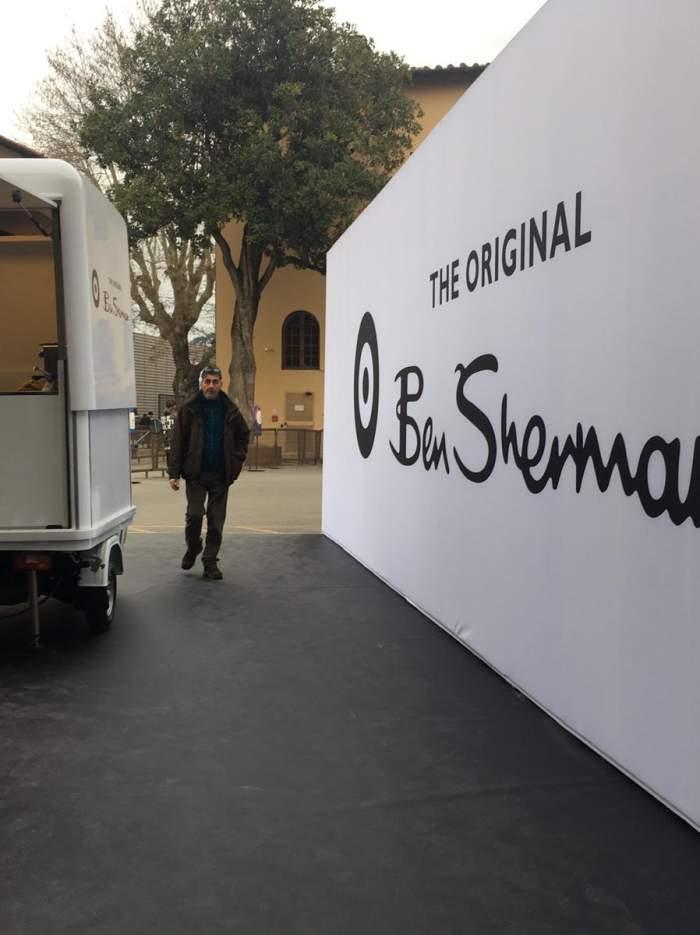 Ben Sherman at Pitti