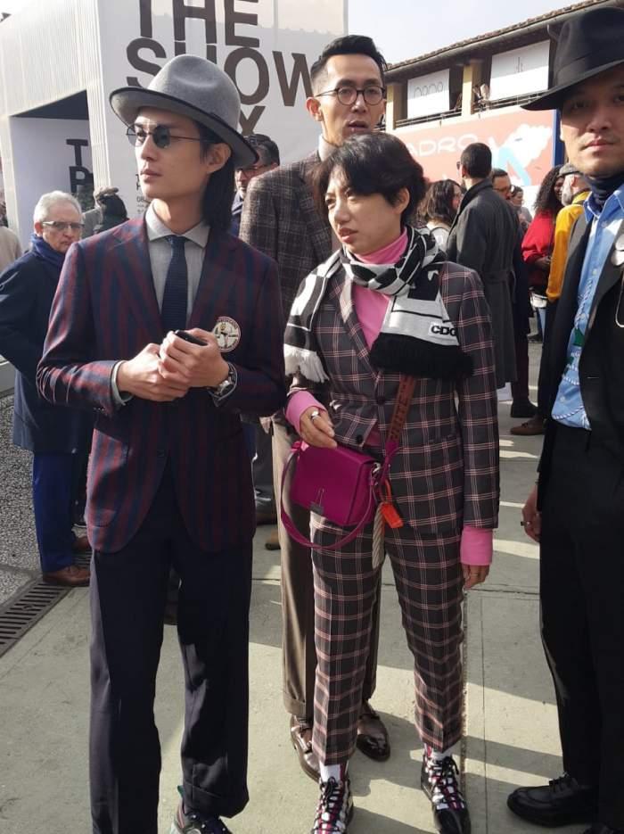 Various fashion at Pitti