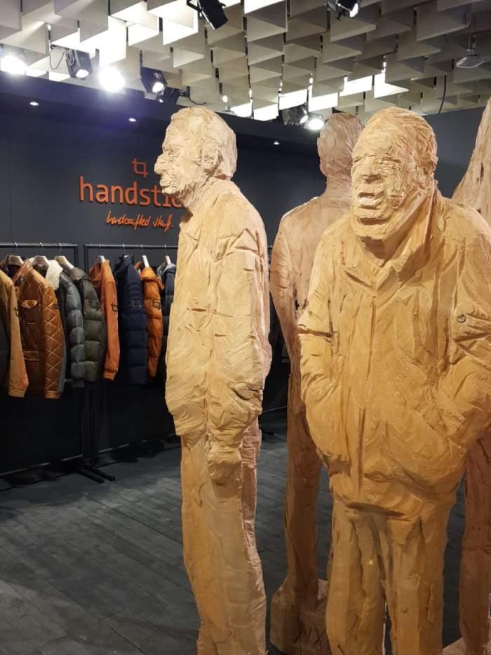 Handstich boot impression