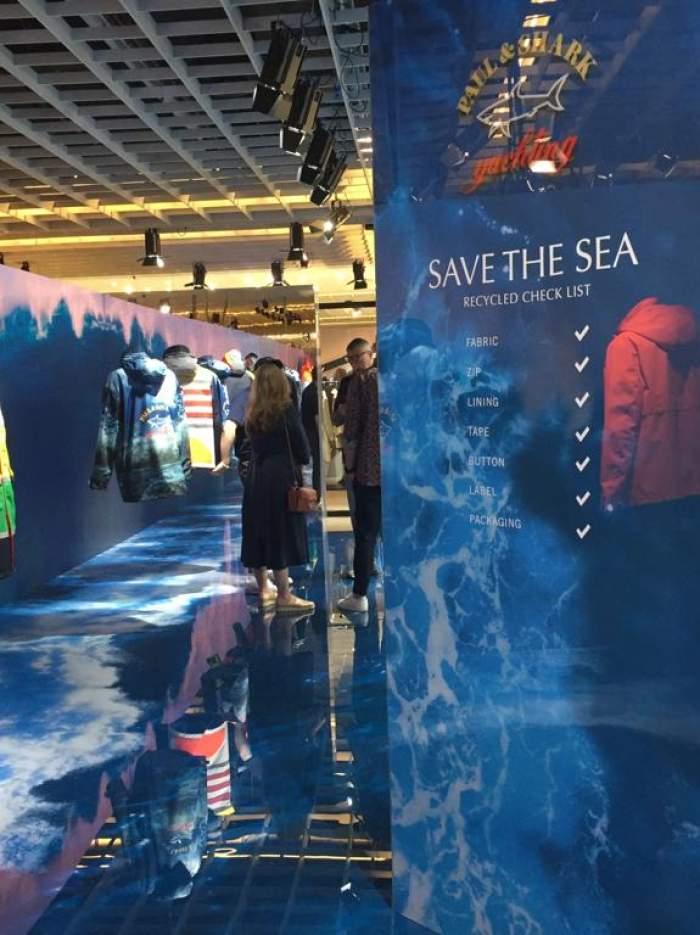 Save the sea at Pitti