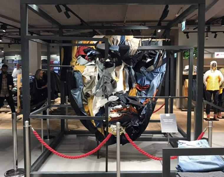 Simon Berger creates art installation for Alberto