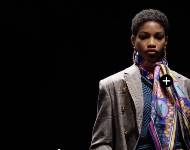 Versace Fall 2019 RTW collection available for interactive shopping