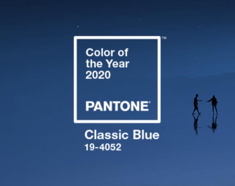 Pantone Colour of 2020: Classic Blue