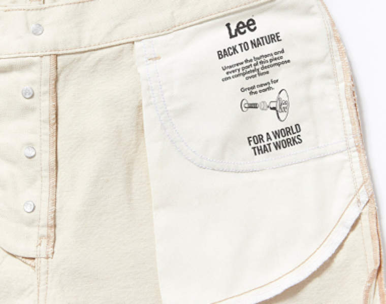 Lee Jeans launches sustainability platform