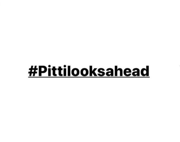 Pitti shares #pittilooksahead message