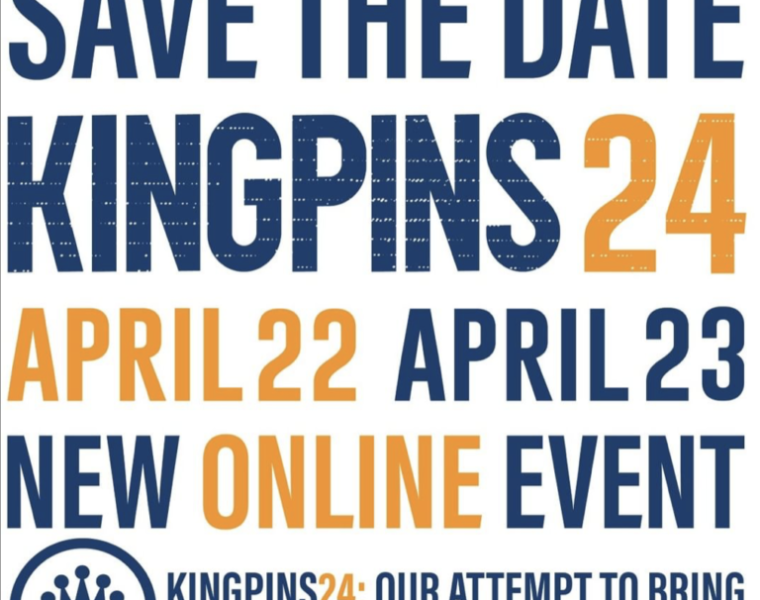 Kingpins to launch new digital event & website revamp