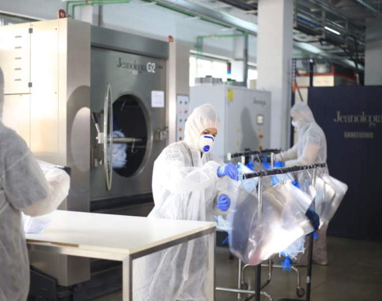 Jeanologia repurposes its technology for sustainable jeans processing to an innovative method for sanitization