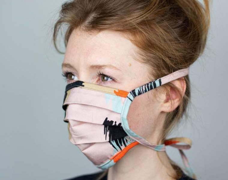 Lovjoi uses TENCEL fabric for makeshift mouthguard collection
