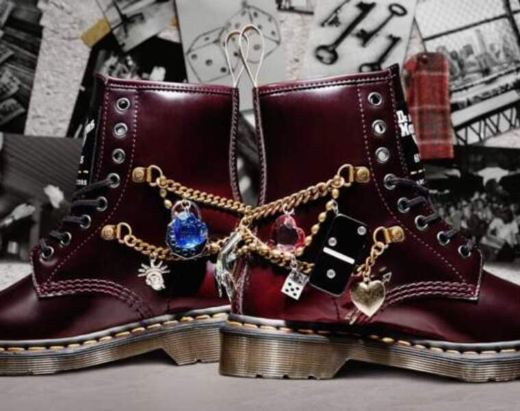 Marc Jacobs partners with Dr. Martens for 60th anniversary of the footwear brand