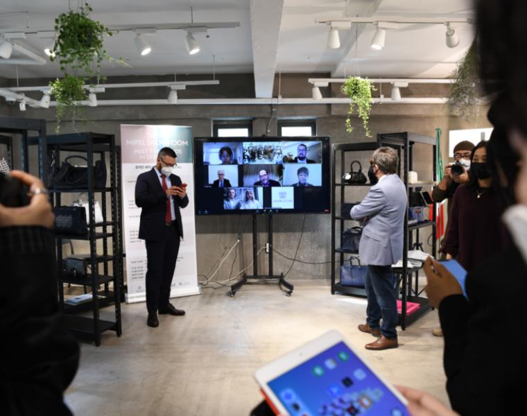 Silent MIPEL showroom: innovative format lands in Seoul