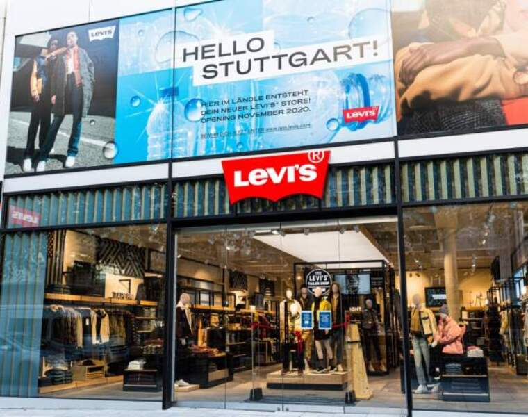 Levi's opens new store in Stuttgart with special Indigo concept