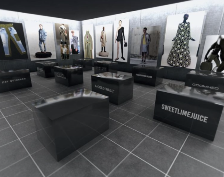 Machine-A x Institute of Digital Fashion launch augmented reality boutique