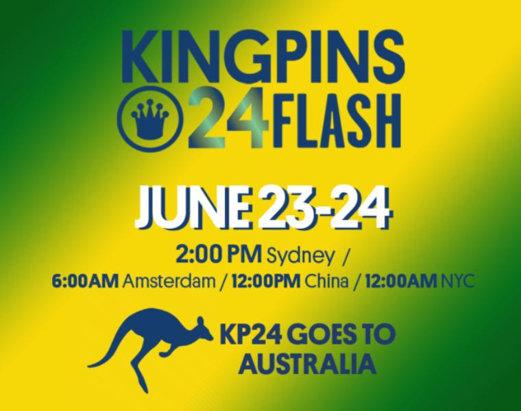Kingpins24 Digital Edition coming to Australia this June 2021