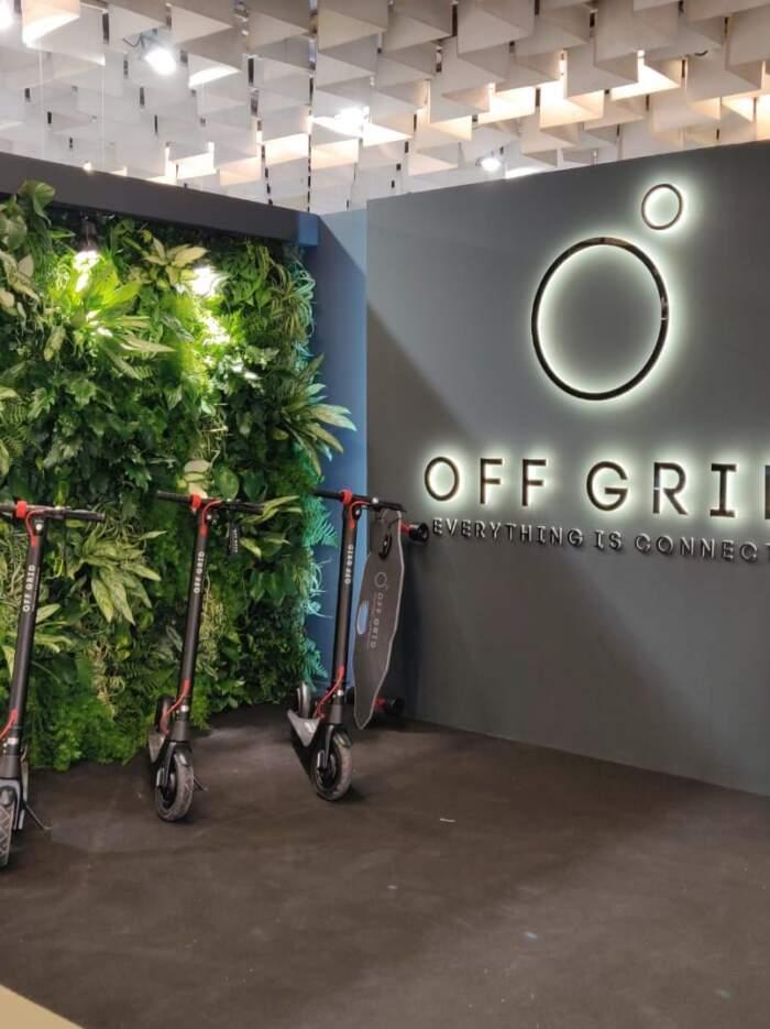 Off grid at Pitti