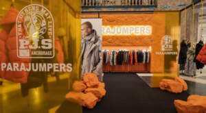 PARAJUMPERS new pop-up in The Lafayette Galaries